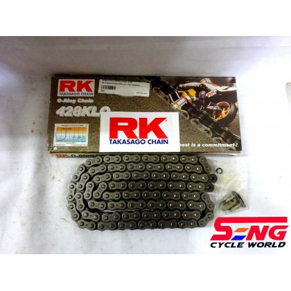 RK O RING CHAIN 428KLO X 114L(AVAILABLE FOR LC135,SRL,EX5)