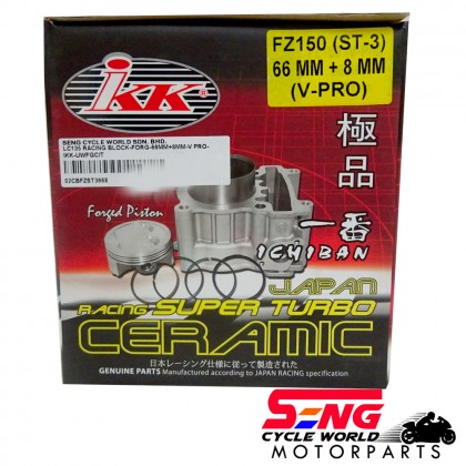 Y15 ZR/ LC135 RACING BLOCK-FORGED-66MM (+8MM) V-PRO-IKK