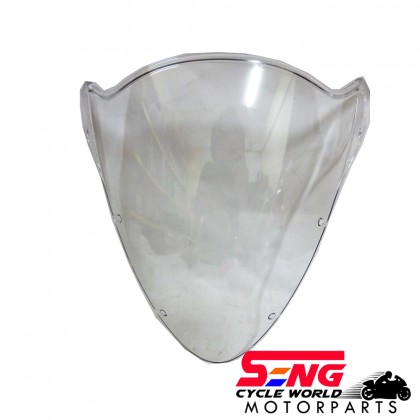 RXZ CATALYZER COWLING VISOR WHITE (CLEAR)