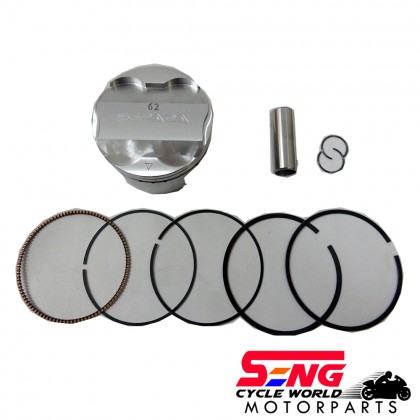 Y15 ZR/ LC135 RACING PISTON KIT-62MM-FORGED-ESPADA-ULTRA