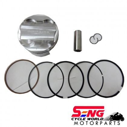 Y15 ZR/ LC135 RACING PISTON KIT-65MM-FORGED-ESPADA-ULTRA
