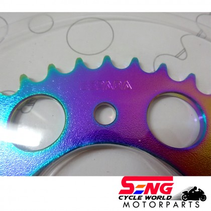 Y15 ZR/ FZ 150 REAR SPROCKET-415-37T-RAINBOW-ESPADA