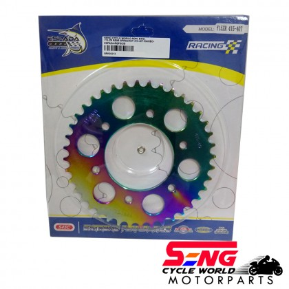 Y15 ZR/ FZ150 REAR SPROCKET-415-40T-RAINBOW-ESPADA