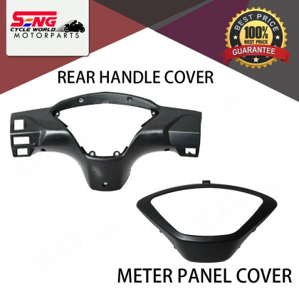 WAVE 125 S METER PANEL COVER, REAR HANDLE COVER