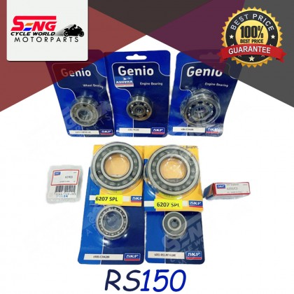 SKF C3 RACING ENGINE BEARING SET - HONDA EX5/ WAVE100/ CLASS 1, RS150, WAVE110/ DASH/ EX5 DREAM 110/ ALPHA, WAVE125/ S/ X ULTIMO & ETC